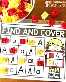 Letter recognition is an important component in PreK and Kindergarten classrooms. Stop by and pick up a FREE letter assessment tool. Plus you'll also find in this post loads of ideas for alphabet practice. Easy and practical activities to help teach your Teaching The Alphabet, Learning Letters, Stem Learning, Preschool Letters, Alphabet Activities, Literacy Activities, Alphabet Books, Letter Identification Activities, Kindergarten Literacy