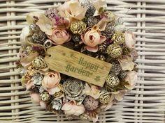 Ikebana, Door Hangers, Door Wreaths, Dried Flowers, Florals, Ribbon, Bloom, Christmas, Home Decor