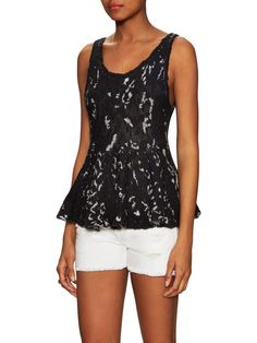 Side By Side Cotton Flared Top by Free People at Gilt