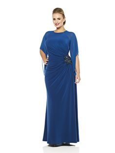 Adelia's Plus Size Evening Dress