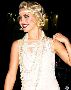 Great Gatsby style, Julianne Hough