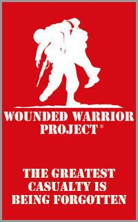 NEVER FORGET THE SACRIFICES OUR MILITARY MEMBERS MAKE....FROM THEIR FAMILIES, THEIR HEALTH, AND SOMETIMES THEIR LIFE.  Wounded Warrior Project