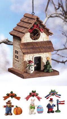 Seasonal Birdhouse