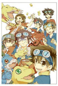 Digimon. Leaders of Digidestined.