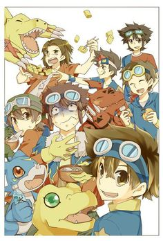 Digimon. Leaders of Digidestined.