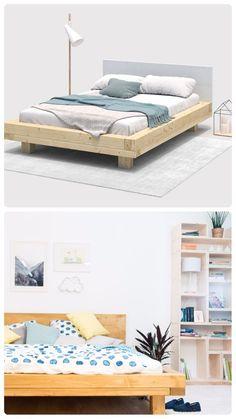 Das eigene Schlafzimmer ist dein Reich? Warum also nicht ein modernes Bett zum Selbstbauen? Individuell, einfach und trotzdem stabil!