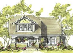 Craftsman House Plan ID: chp-21888 - COOLhouseplans.com