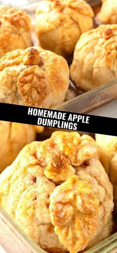Is there anything better than warm Homemade Apple Dumplings? These are the only apple dumplings I've ever made. The crust is so very soft! The sauce that's poured over the dumplings before baking and then after they are baked, is just delicious. Everything about this recipe is pretty much perfect! I've always used Macintosh apples to make the recipe. I wanted a small apple, like the Macintosh to make a one serving apple dumpling that wasn't overwhelming to eat in one setting for dessert. I…