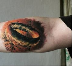 28 Tattoos Inspired by Lord of the Rings