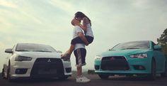 Car Photography, Couple Photography, Cute Couples Goals, Couple Goals, Car Photos, Car Pictures, His And Hers Cars, Car Girls, Girl Car