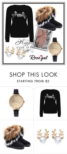 """Rosegal free shipping"" by erina-salkic ❤ liked on Polyvore featuring WALL and rosegal"