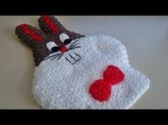 Tavşan Kese Lif Yapımı | Tığ işi Örgü Modelleri - YouTube