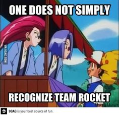 Pokemon logic - no one recognizes her hair.. it doesnt stick out or anything...
