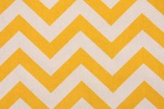 BUY QUICK! WONT LAST LONG!    This 12 wide table runner is made from yellow and white 100% cotton slub linen-like zig zag fabric. Perfect