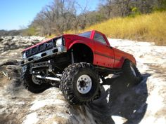 Original late 80's Tamiya 1/10 scale 4x4 bruiser. Scale rc at it's best, and Tamiya is re-releasing it.