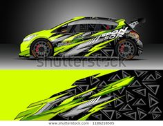 Similar images stock photos and stock vectors on Decal Wrap Design Vector. Abstract graphic designs of racing caravans for vehicles race cars rally adventure and livings; Car Logo Design, Racing Car Design, Nitro Buggy, New Luxury Cars, Design Vector, Motorbike Design, Moto Cross, Car Racer, Unique Cars