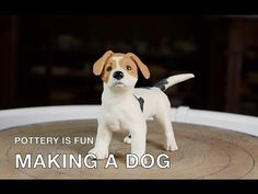 How to Make a Dog - Making Animals Out of Clay - Pottery is Fun - YouTube