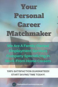We are a family owned and operated employment services company that specializes in high-paying work-from-home jobs. Get your personal job matchmaker today!   #workfromhome #workathome #telecommute #telework #jobs #lookingforwork #work #skills #employment #jobsearch #telecommute #homebased #hire #gig #homeoffice #remote #freelance #digital #marketing #nomad #travel #recruiter #HR #wahm #wahd #wah #wfh Helping Others, Helping People, Foto Software, Flex Job, Employment Service, Work From Home Careers, Presentation Video, Best Resume Template, Resume Tips