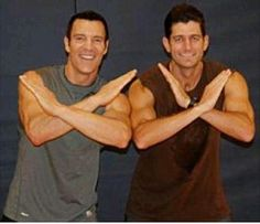"""""""the man"""" Tony Horton and VP pick Paul Ryan! This is why I love Horton! He is always with Conservatives"""