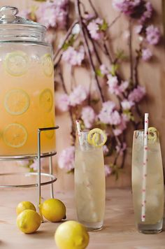 Orange blossom grapefruit lemonade - orange blossom water, pamplemousse (grapefruit liqueur), vodka, and lemonade