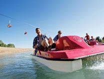 Pedal Boats at Canyons Resort