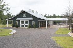 Morton Buildings horse barn in Thomasville, Georgia.