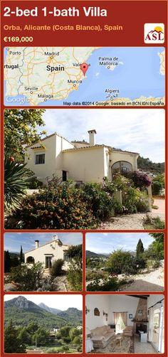 2-bed 1-bath Villa in Orba, Alicante (Costa Blanca), Spain ►€169,000 #PropertyForSaleInSpain
