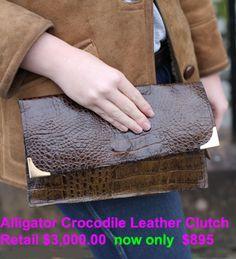 Exotic Handbags on Pinterest   Alligators, Crocodiles and Retail