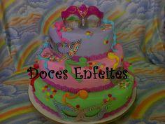 Bolo Baile de Mascaras ou Carnaval Encomendas:(21) 2652-6583 selmadocesenfeites@yahoo.com.br selmadocesenfeites@gmail.com