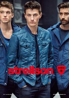 Get ready for the Strellson Sportswear Spring/Summer 2015 campaign. #strellson #sportswear #mensfashion