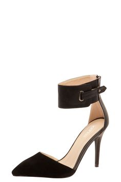 Mia Buckle Ankle Strap Heels at boohoo.com