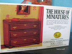 Vintage The House of Miniatures by toastycrowstreasures on Etsy, $8.50