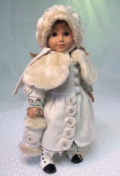 MHD Designs - Mon Bon Manteau - Fashion Pattern for 18 Inch American Girl Dolls