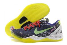 new arrivals 7ad34 90ba7 Nike Zoom Kobe Viii Mens Purple Yellow