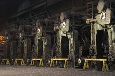 Ravens Peak Steel Mill | Flickr - Photo Sharing! Steel Mill, Ex Machina, Ravens, The Past, Industrial, Raven, Crows, Industrial Music