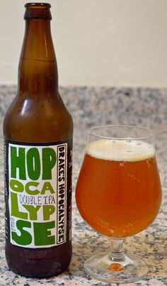 Drake's Hopocalypse - This is one big and hoppy DIPA. The hops just keep coming and they have a great range of flavor to them. And while the hops are definitely front and center here, there is more than enough malt to keep up and provide a nice balance to the huge hoppiness. Overall a very solid DIPA offering from one of my favorite Bay Area breweries.