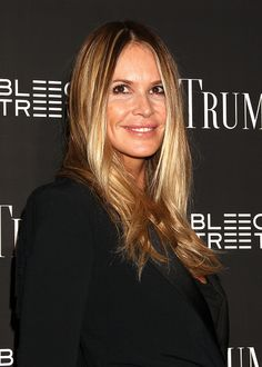 Elle MacPherson attends the 'Trumbo' New York premiere at MoMA Titus One on November 3 2015 in New York City