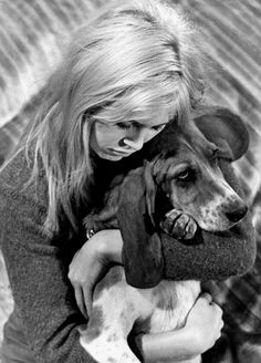 Brigitte Bardot such a animal lover