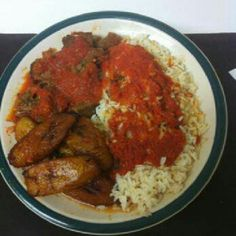 Delicious African food from Wasota African Cuisine on 1st Street!