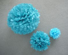 A Formula for Tissue Paper Poms: Large, Medium, and Small | Speckless Blog