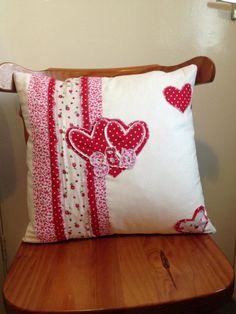 A handmade cushion..