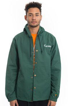 Carrots, Carrots Hooded Coach Jacket - Green - Carrots - MOOSE Limited