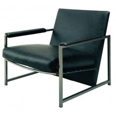 Evan Lounge Chair Black