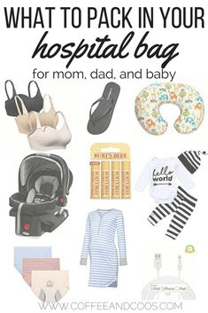 If you're a first time mom getting ready to pack of your hospital bag, check out this list of must have items. From the basics to things you would have never thought about, this list will help you pack the perfect bag.