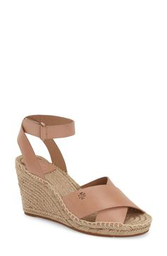 cea2f5d5f3 Tory Burch 'Bima' Espadrille Wedge (Women) Espadrilles Outfit, Flats Outfit,