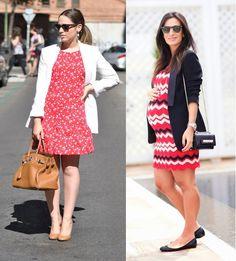 4_moda gestante_look para grávidas_look de inverno para gravidas_looks de trabalho para gestantes_moda para trabalhar_dicas de moda para grávidas_gravidas de blazer e vestido_gravida chique