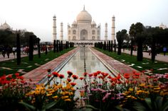 The Taj Mahal in India. Most people would agree it is the most beautiful building on earth.