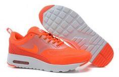 Prezzi bassi nike air max thea donna scarpe da ginnastica arancioni,bianche outlet online italia