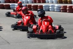 Go-Karts, Mini Golf, and Bowling for Two or Four at Kristof's Entertainment Center in Round Lake Beach (Up to Off) Karting, Fast Go Karts, Head Sock, Alpine Mountain, Smoky Mountain, Slap Shot, Round Lake, Lake Beach, Miniature Golf