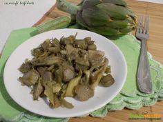 Carciofi trifolati  #ricette #food #recipes